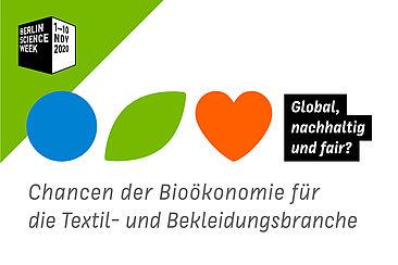 """Wort-Bild-Marke """"Global, nachhaltig und fair?"""""""