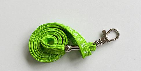 Schlüsselband ohne Schlüssel