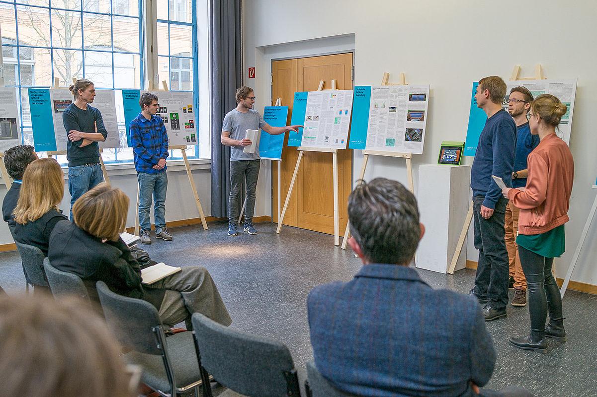 Projektpräsentation von Studierenden