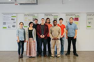 Gruppe von Studierenden