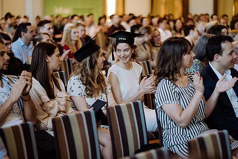 Alumni im Publikum