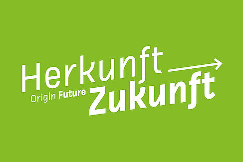 "Wortmarke ""Herkunft Zukunft"""