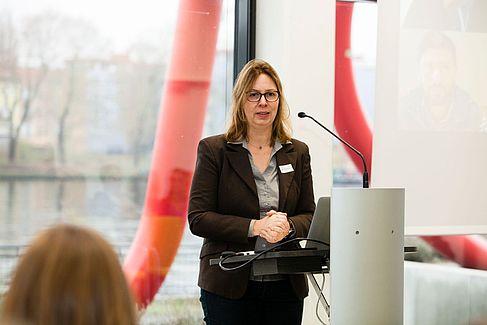 Vizepräsidentin Birgit Müller