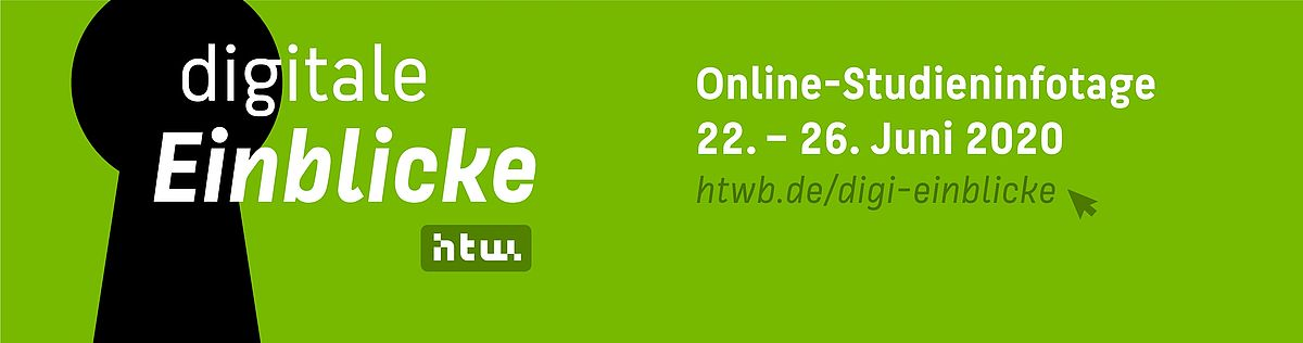 Digitale Einblicke: Online-Studieninfotage vom 22. bis 26. Juni 2020